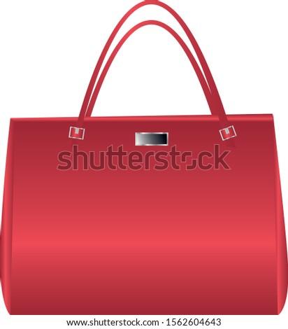 Handbag vector illustration design.hyper-realistic looking handbag vector illustration