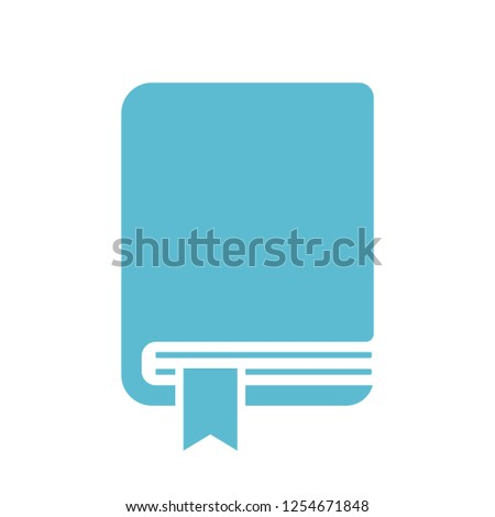Handbook vector icon illustration isolated on white background