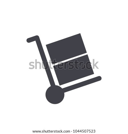 handcart icon vector EPS10