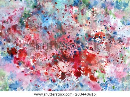 Handcraft full color vector background 002 #280448615