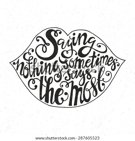handdrawn inspirational and