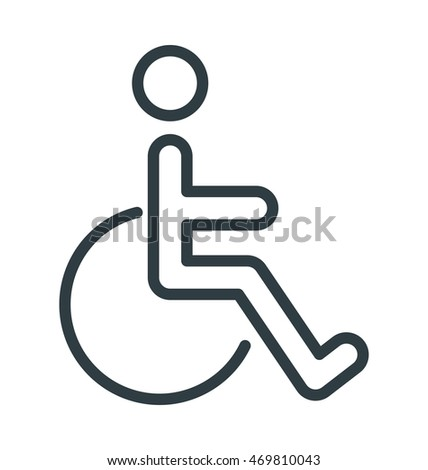 Handicap Vector Icon