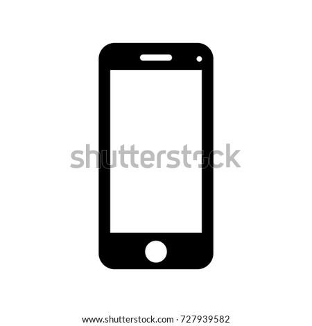 Handphone vector icon.