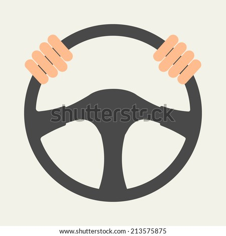 vector images illustrations and cliparts hands holding steering wheel vector illustration in flat style hqvectors com hands holding steering wheel vector
