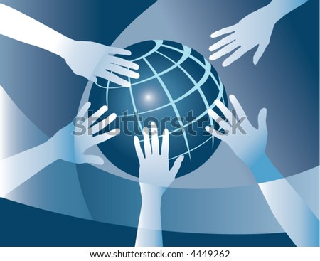 Hands team up to make the world a better place