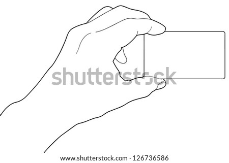 Hands with a paper sheet