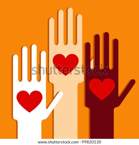 Hands with love