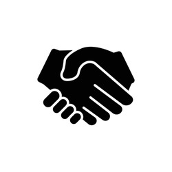 Handshake icon. deal, partner, Business symbol. the icon can be used for application icon, web icon, infographics. Editable stroke. Design template vector