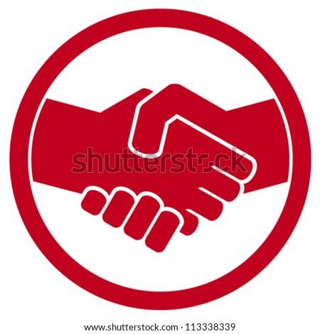 handshake symbol handshake emblem handshake sign