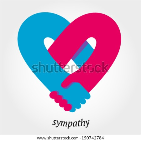 handshake sympathy  love and