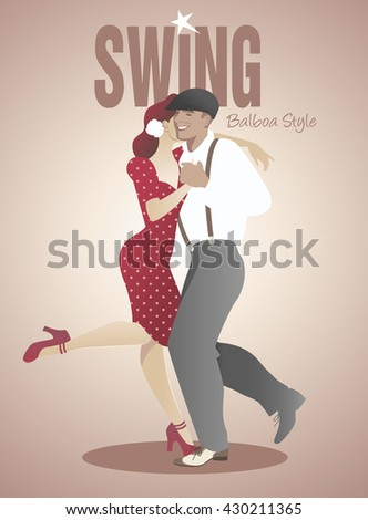 handsome man and pin up girl