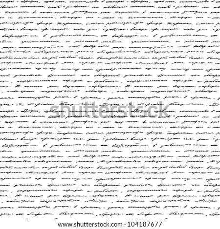 handwriting seamless vector