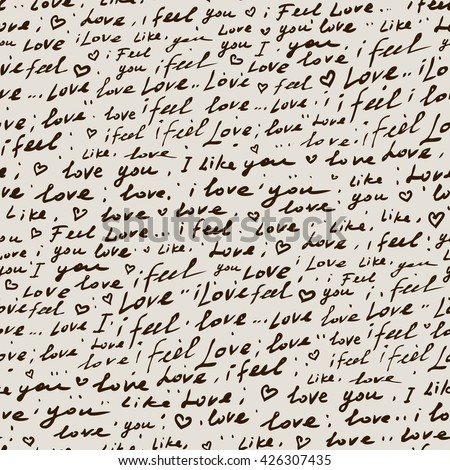handwriting vintage hand drawn