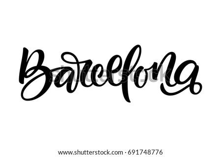 handwritten city name hand