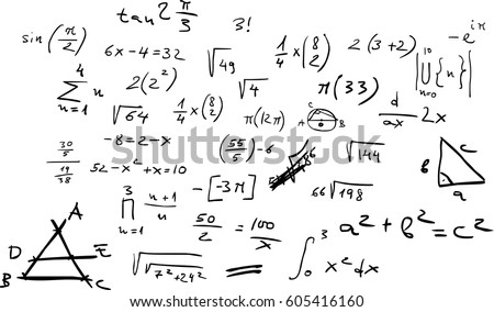 Handwritten Mathematic Equations