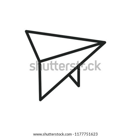 hang-glider vector icon