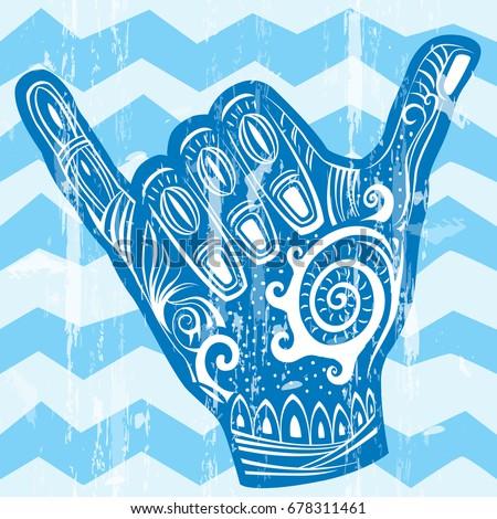 surf hand gesture  Maui Wowi Blog