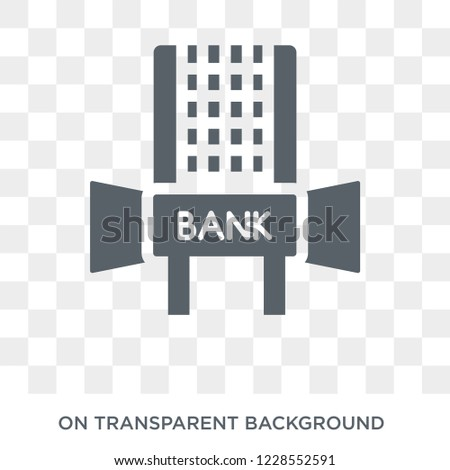 Hang Seng icon. Trendy flat vector Hang Seng icon on transparent background from Business  collection.