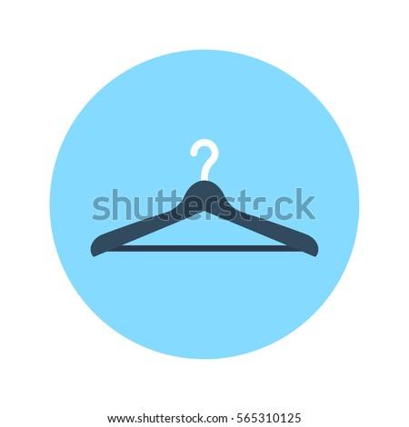 Shutterstock Hanger flat icon vector