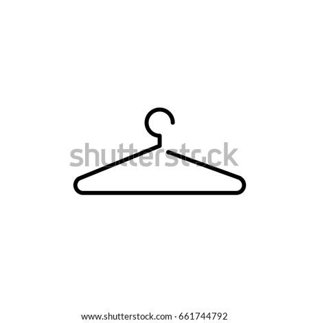 Shutterstock Hanger flat - Vector icon