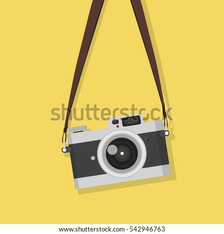 stock-vector-hanging-vintage-camera