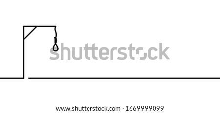 hangman or hangwoman noose knot