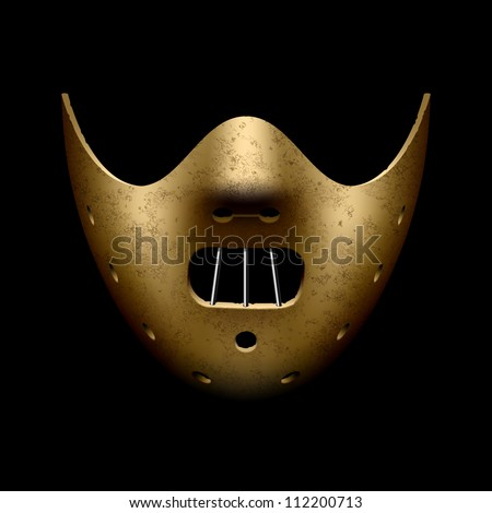 hannibal halloween mask vector