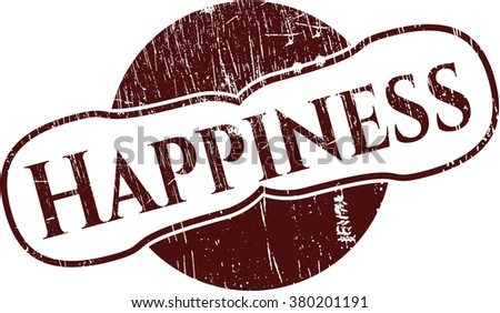 Happiness rubber texture