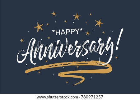 Happy anniversary background download free vector art stock