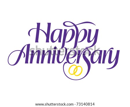 Happy anniversary lettering vectors download free vector art happy anniversary with rings vector lettering voltagebd Choice Image