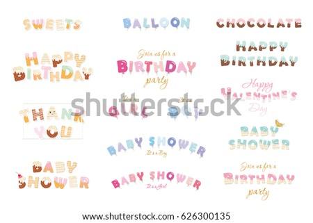 happy birthday  baby shower