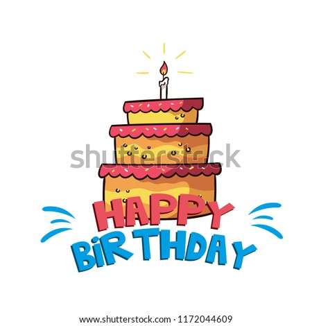 Birthday cake background - Download Free Vectors, Clipart