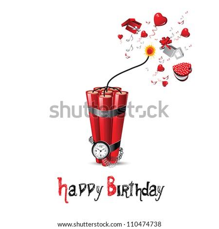 happy birthday bomb