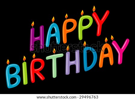 happy birthday images funny. stock vector : happy birthday