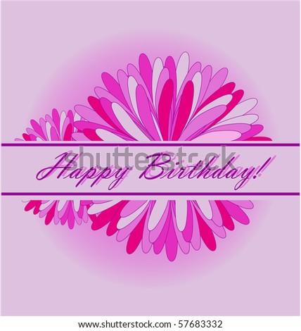 happy birthday card #57683332