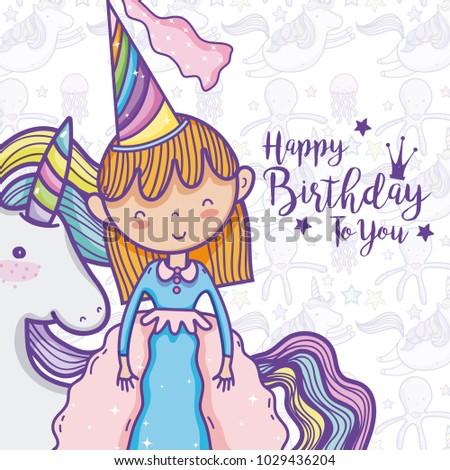 Happy Birthday Card For Girls Ez Canvas