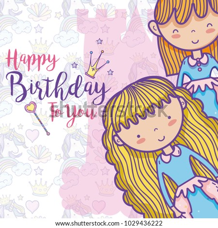 Happy Birthday Card For Girls Ez Canvas