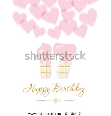 happy birthday card for girls