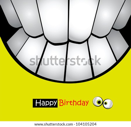 Happy Birthday Card smiles