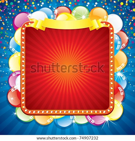 Hd Blank Birthday Background : ... Happy Birthday Card Template, Blank Colorful Background For your Text