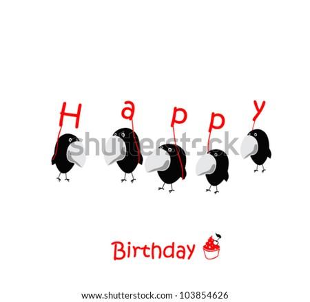 Happy Birthday Cards birds