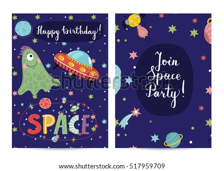 happy birthday cartoon greeting