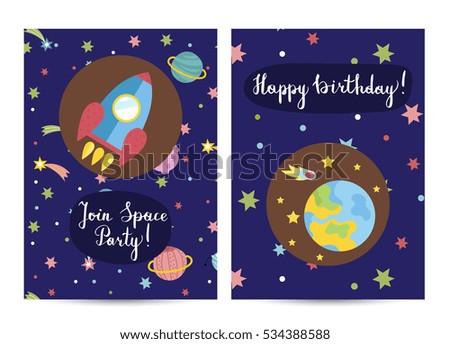 happy birthday cartoon greeting