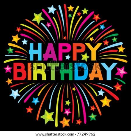 Happy Birthday Harvesmom! Stock-vector-happy-birthday-firework-77249962