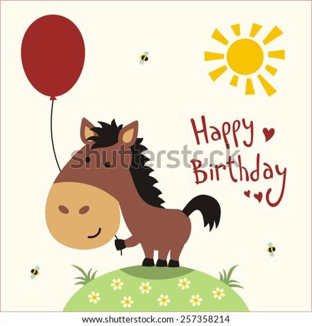 happy birthday  funny little