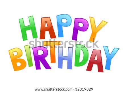 happy birthday graffiti. stock vector : happy birthday