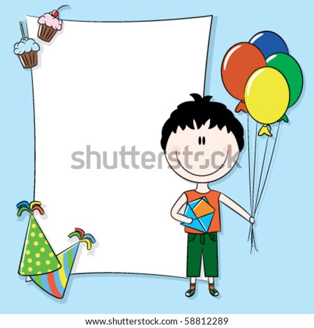 birthday greetings message for friend. irthday greetings message for friend. stock vector : Happy irthday