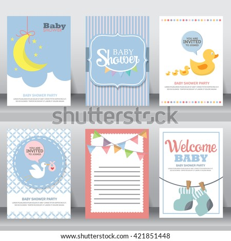 Happy Birthday Holiday Baby Shower Celebration Greeting