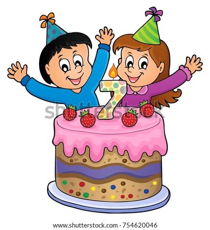 happy birthday image for 7