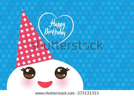 happy birthday  kawaii funny
